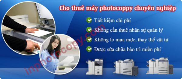 Cho thuê dịch vụ photocopy tại chỗ chuyên nghiệp