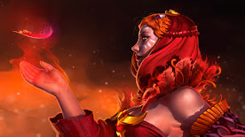 Lina DOTA 2 Wallpaper, Fondo, Loading Screen