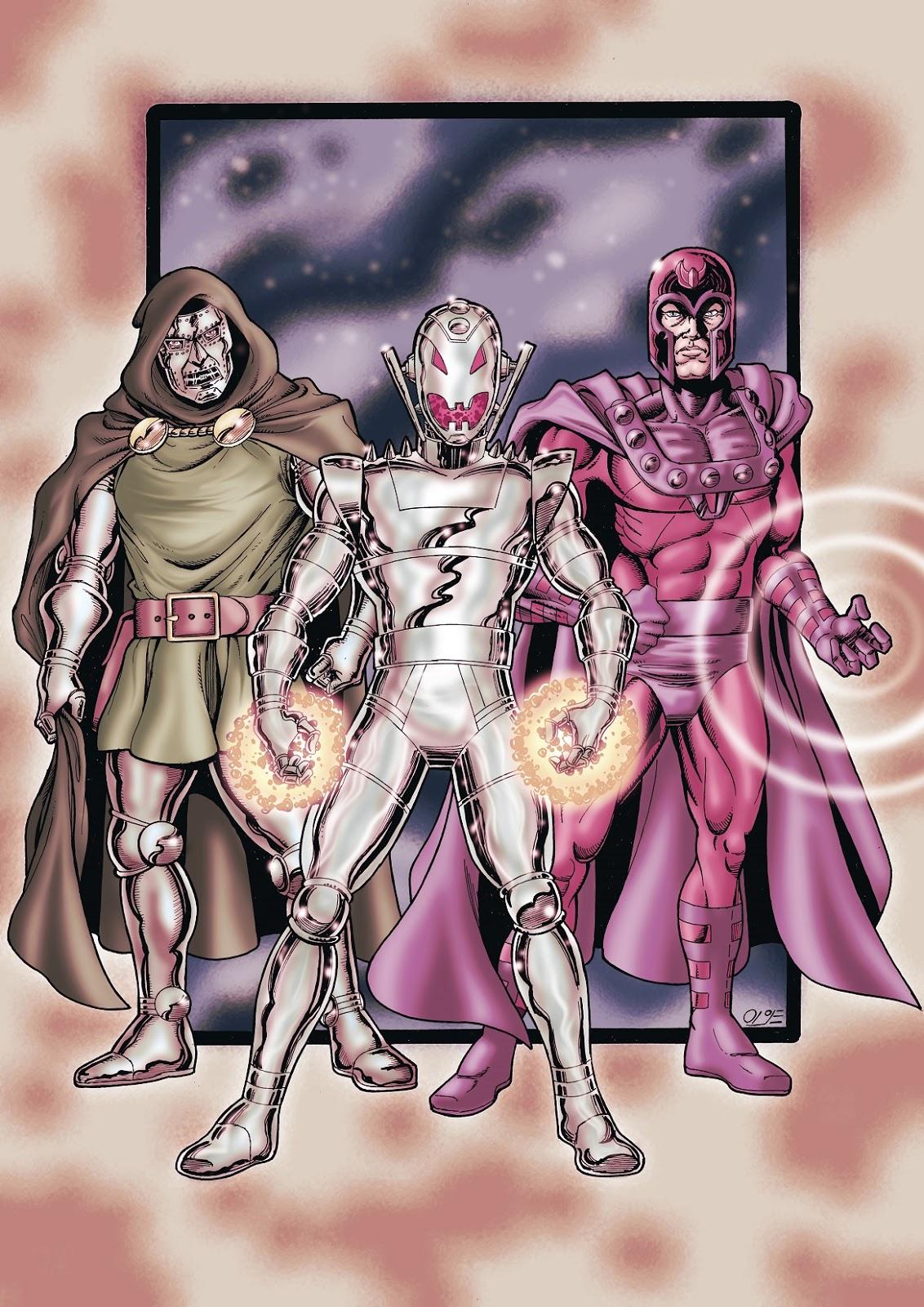 Ultron vs dr doom magneto