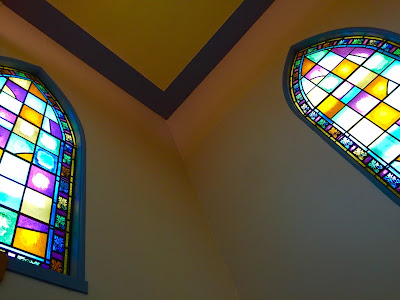 Stittsville United Church has SO MUCH beautiful stained glass!