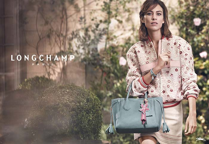 Longchamp's Spring 2017 Campaign