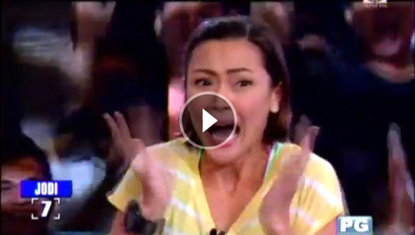 Jodi Sta Maria wins P1 million in Minute To Win It