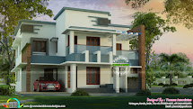 Spectacular Contemporary Home 2750 Sq-ft - Kerala