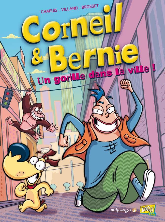 BD Corneil & Bernie par Sylvain Brosset