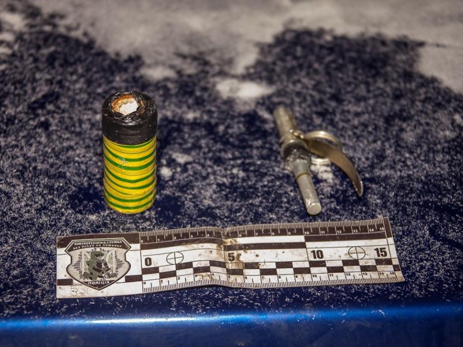 Днепровские полицейские задержали автомобиль с подрывниками