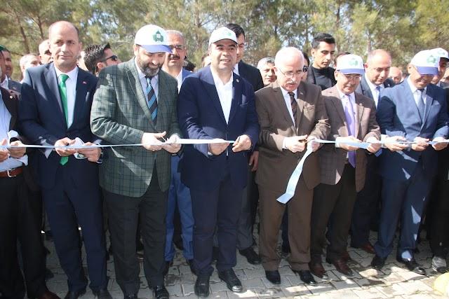 Bozova Çatak sosyal tesisleri açıldı