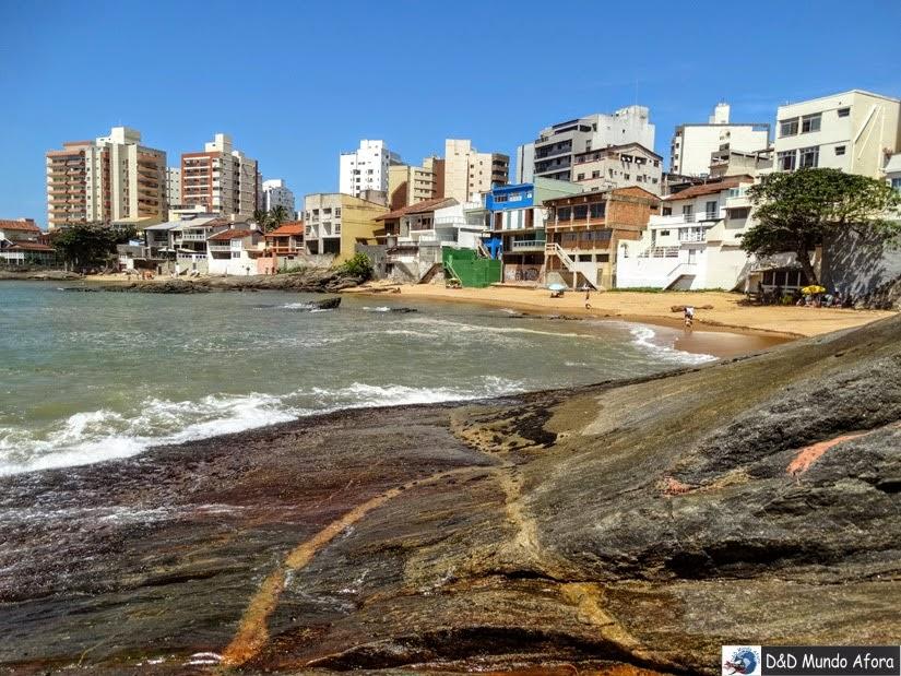 Praia da Fonte - o que fazer em Guarapari - Espírito Santo