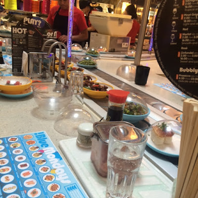 Yo! Sushi, Japanese, Rice, Bluewater, Blue Monday