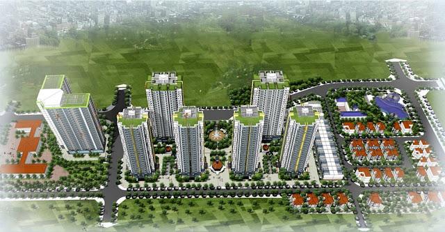 Phối cảnh tổng thể dự án Mipec City View
