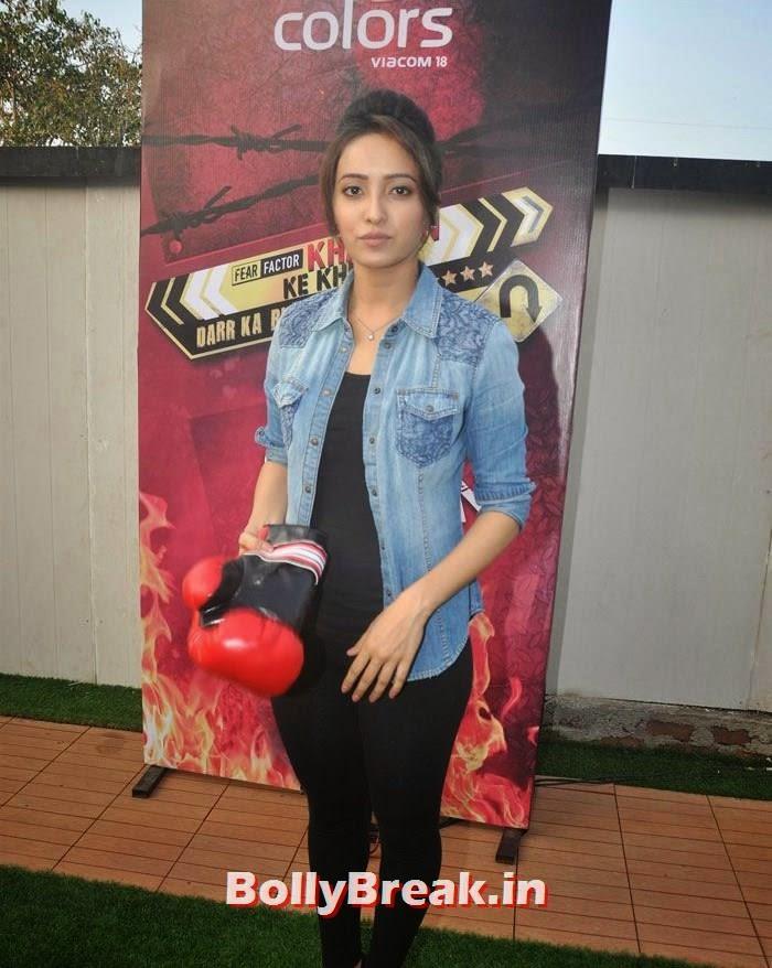 Asha Negi, 'Khatron Ke Khiladi' 6 Contestants Hot Pics