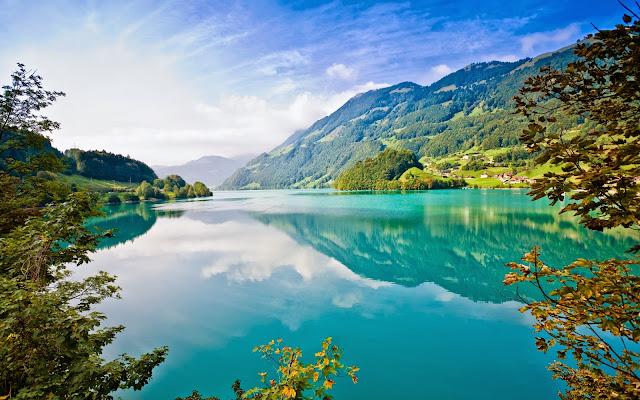 Lago na Suiça