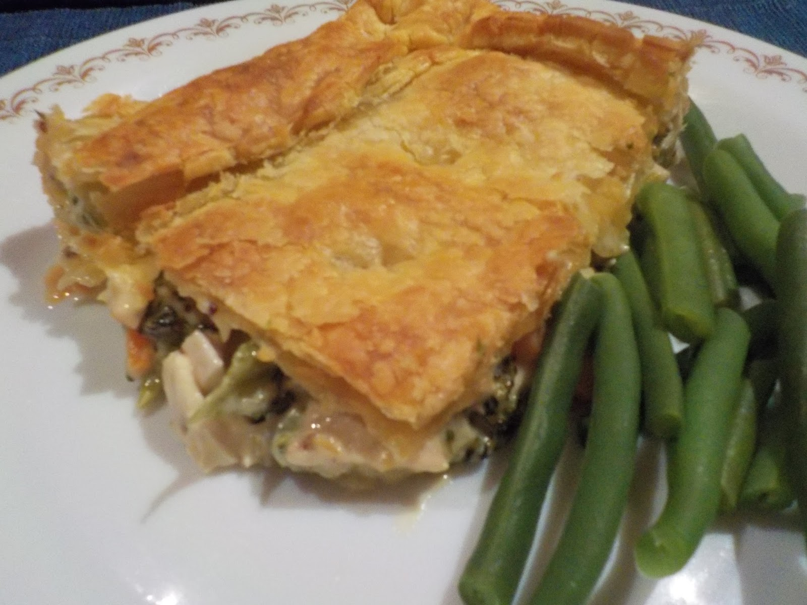 a hopeful nature: Chicken and Leek Pie