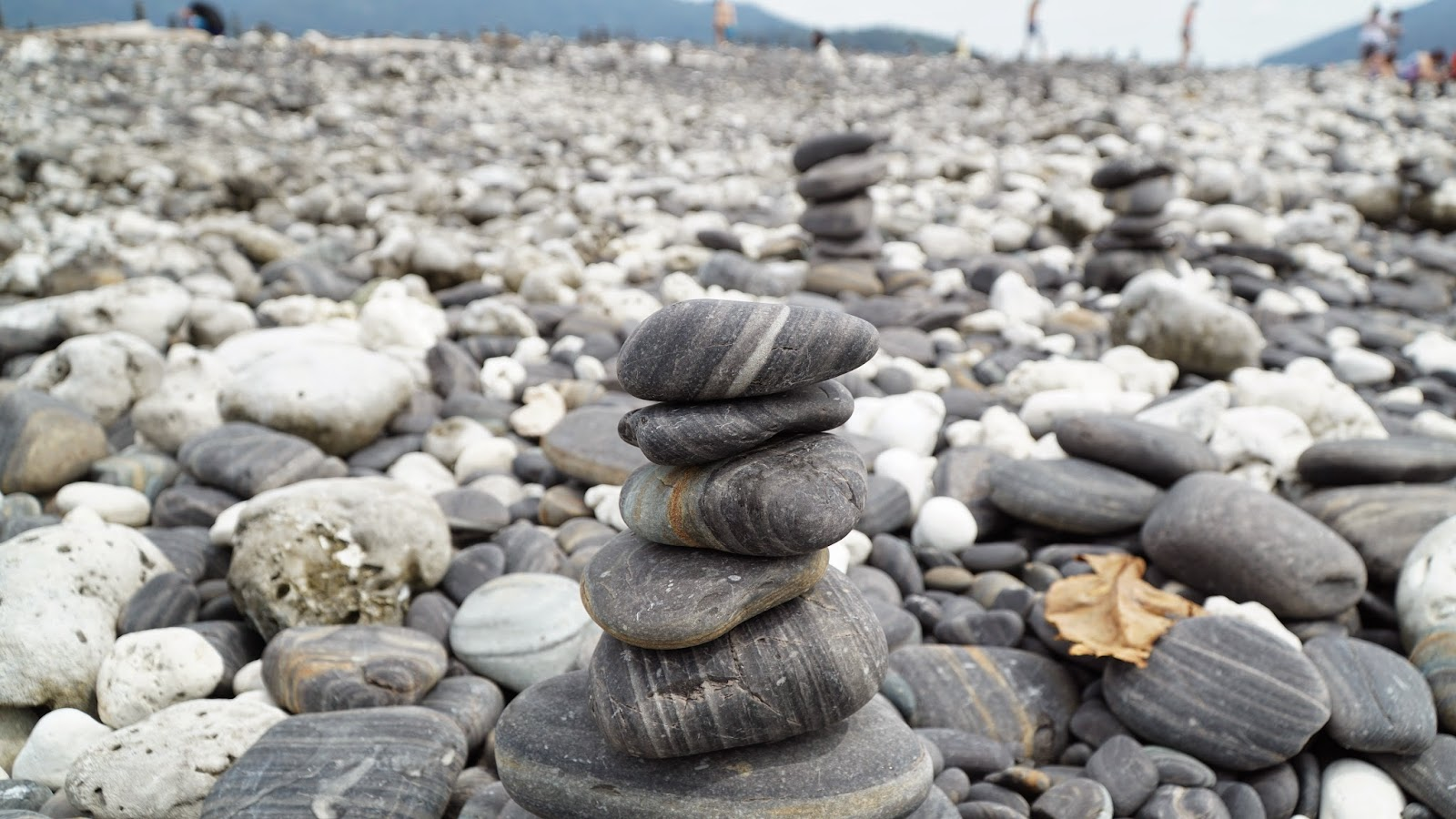 Do what everyone does in Koh Hin Ngam. Stack your own cairn. If you manage to stack it high enough and make a wish, good fortune will come to you