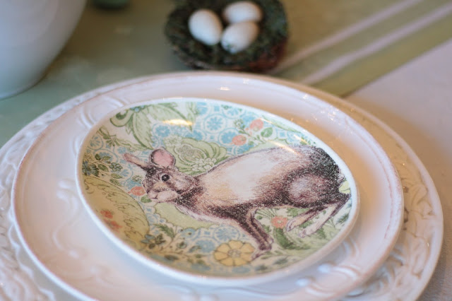 classic easter tablescape pottery barn bunny plates adorable easter decor