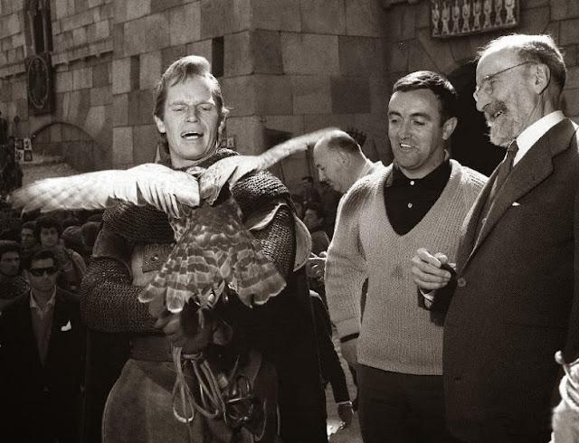 Imagen del rodaje de 'El Cid (1961)'