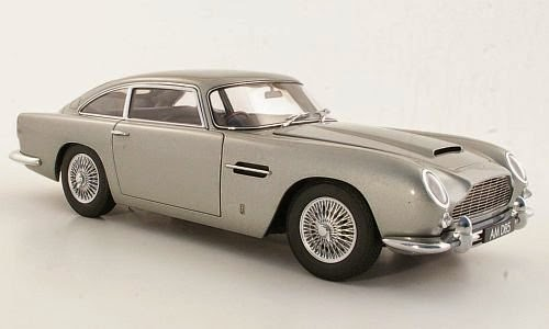 Aston Martin DB5 Silver Grey