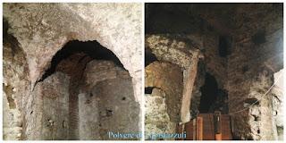 Serie di vasche scavate nel tufo dove l'acqua veniva pulito dall'impurità