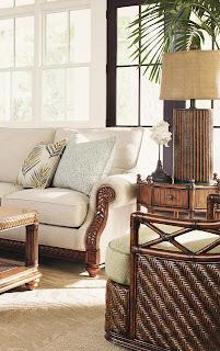 tommy bahama sofa pilliws