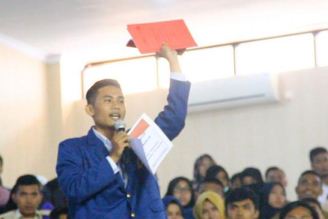 Ketua BEM Unram: Kami Memberi Nilai C Atas Pemerintahan Jokowi