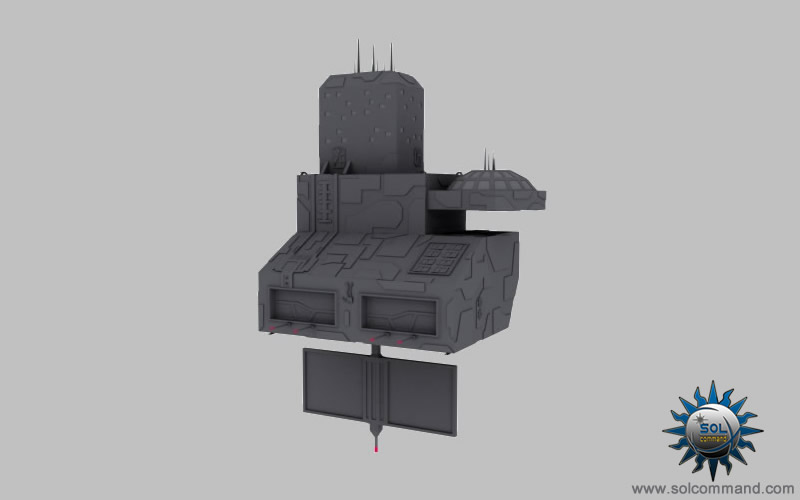 old military space station 3d model free download army base motherbase poly hq scifi futuristic human terran design