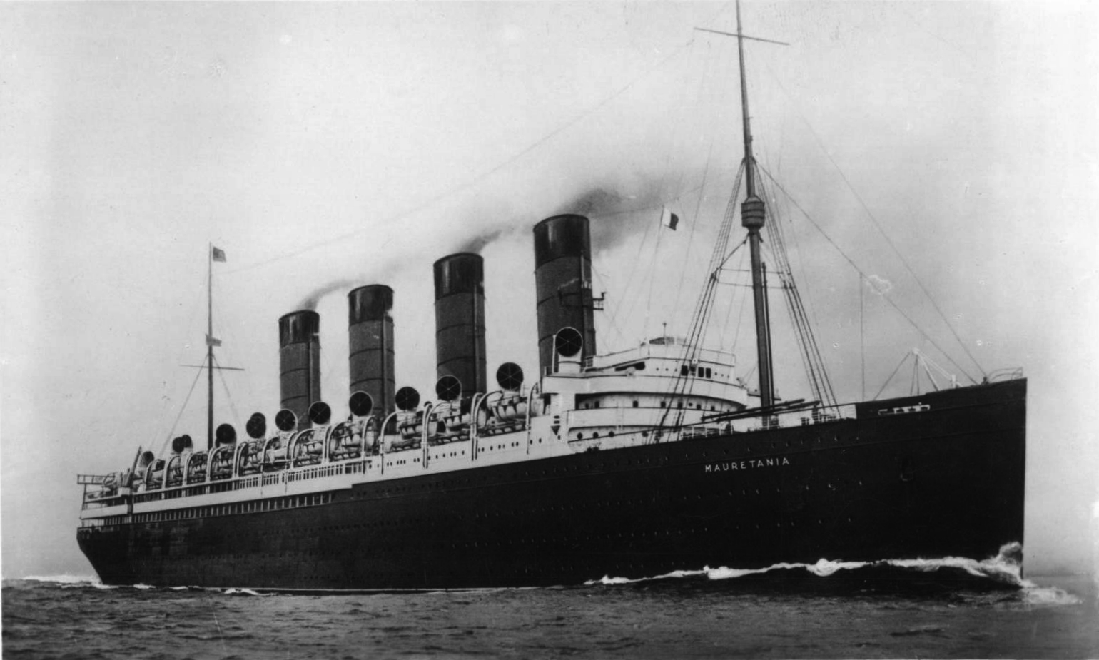 Starting Rms Mauretania From Cold