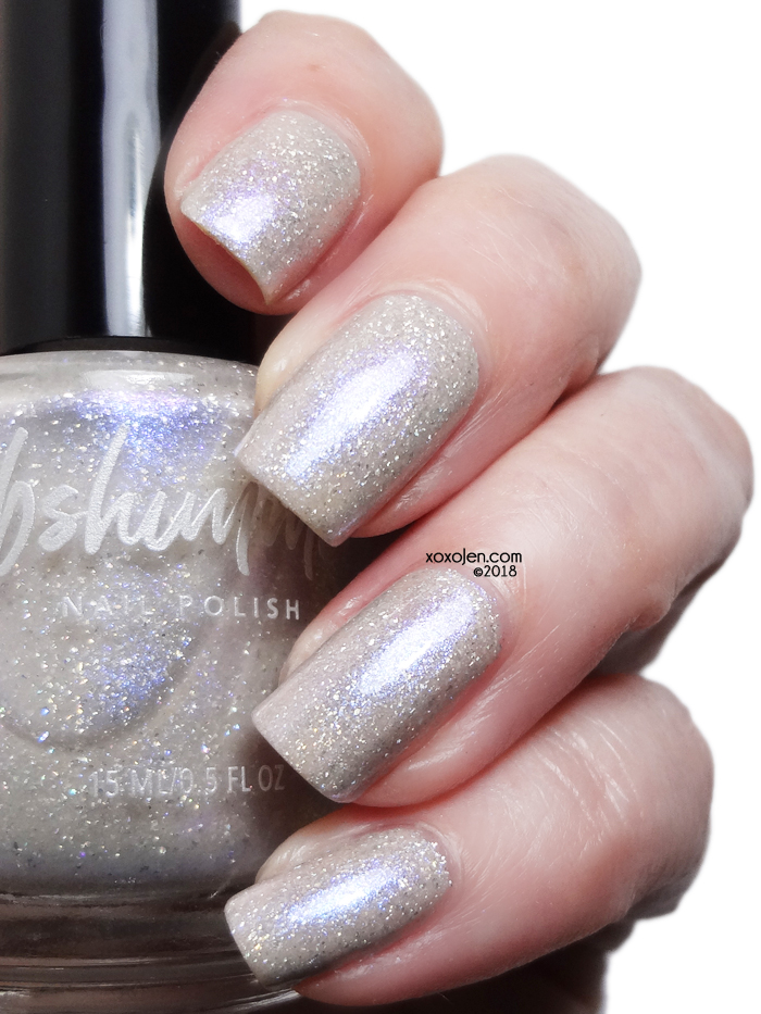 xoxoJen's swatch of kbshimmer: Sandy for Polish Pick Up