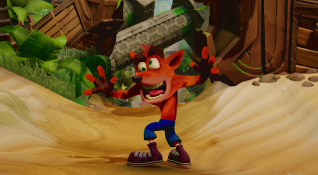 Crash Bandicoot está de volta!