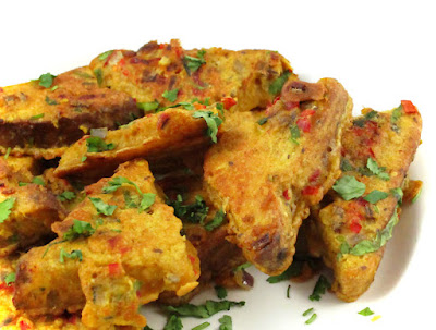 Indian-Style Egg-Free Masala French Toast