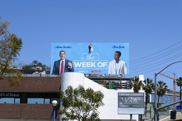 The Week Of Netflix film billboard