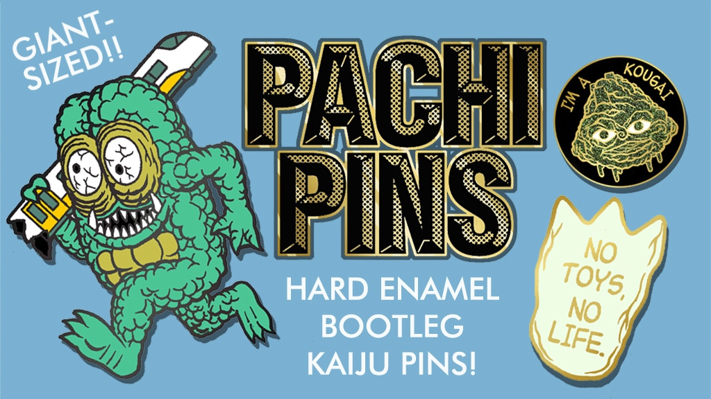 reputable site 38ffe 6626a Get Your Patchi Pins on Kickstarter