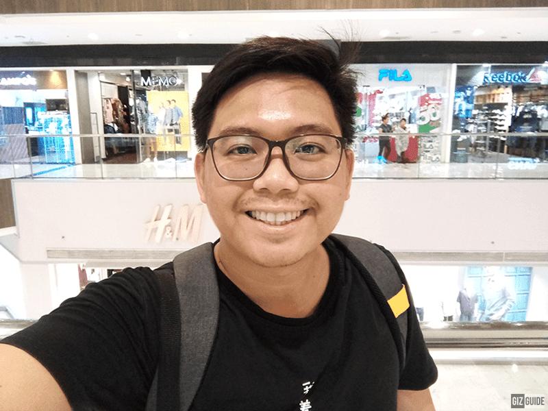Indoor selfie 3