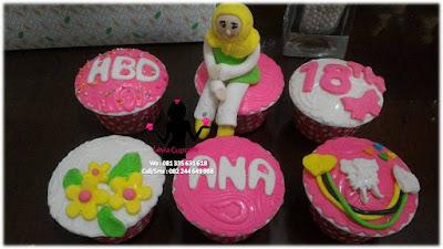 Jual Cupcake 3d Murah dan Enak