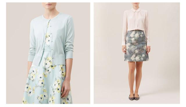 Одежда с принтом в пастельных цветах