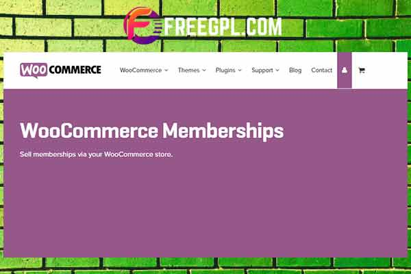 WooCommerce Memberships Free Download
