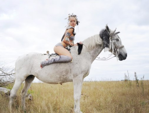 sexy riding horses photo