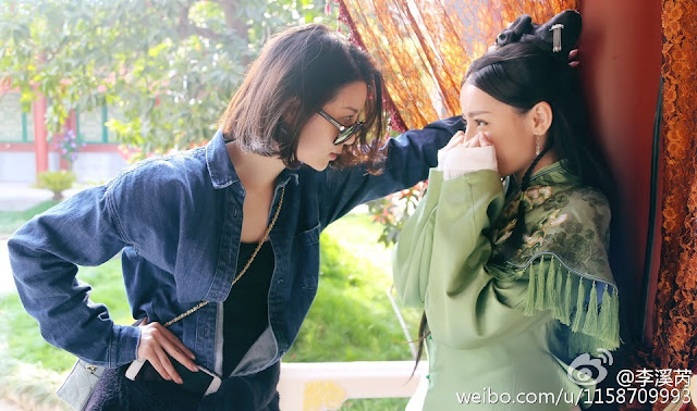 Li Xirui visits Dilraba Liu Shan Men