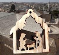 Logo Ricevi gratis una esclusiva decorazione del Presepe in legno di ulivo