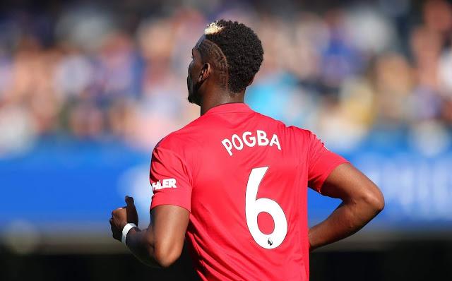 Paul Pogba hengkang dari MU