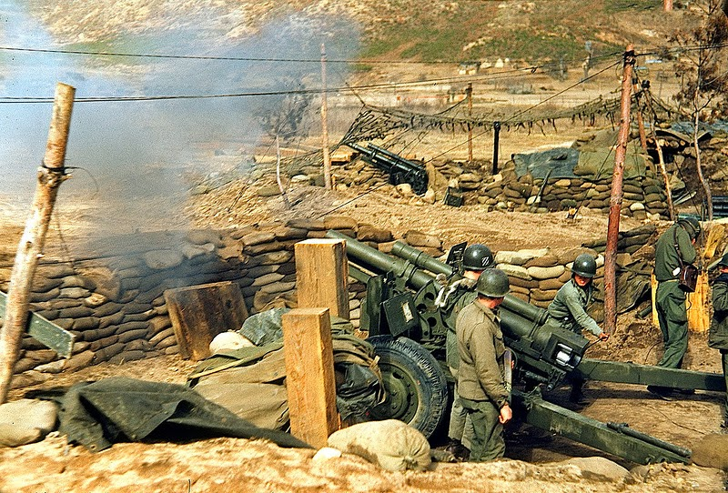 28 Color Photographs Of Korean War In The 1950s Vintage
