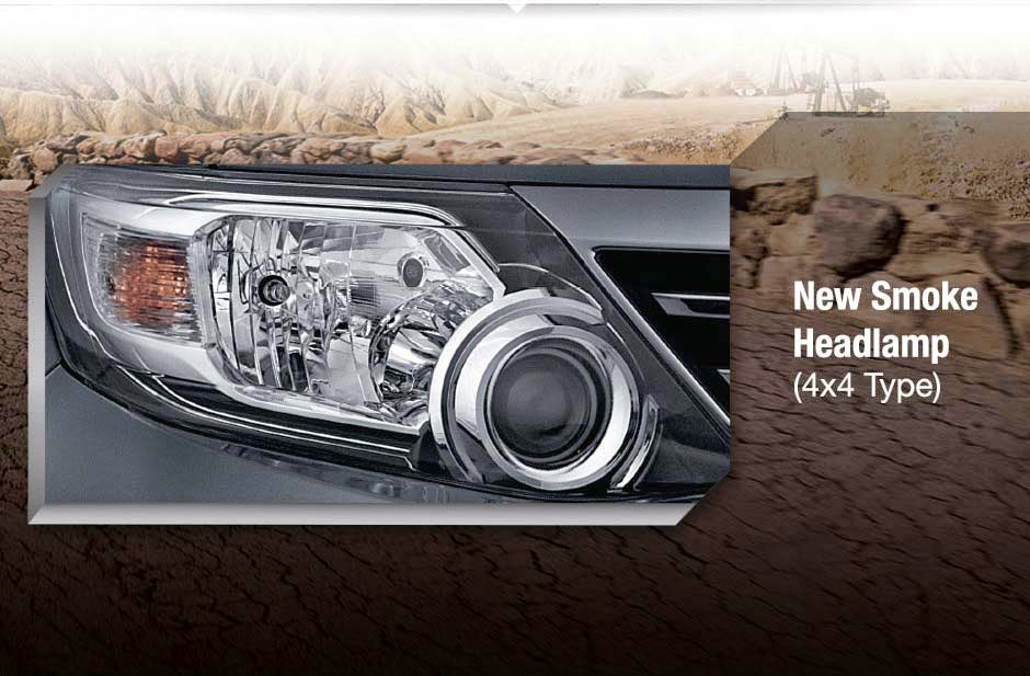 fortuner smoke headlamp