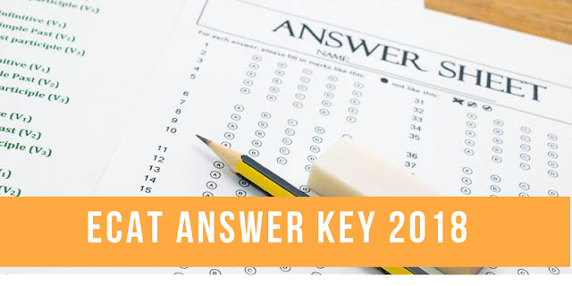 ecat answer key 2018