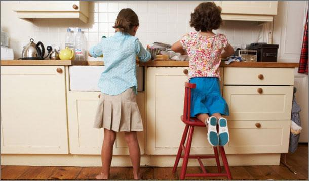 Children Doing Housework At Home Will Be Successful Adults According To Researchers