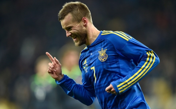 Andriy Yarmolenko - Ukraine