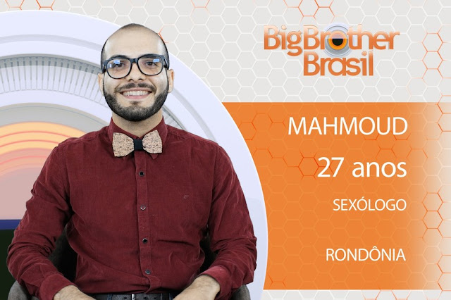 Sexólogo de Rondônia Mahmoud Baydoun é selecionado para o BBB 18