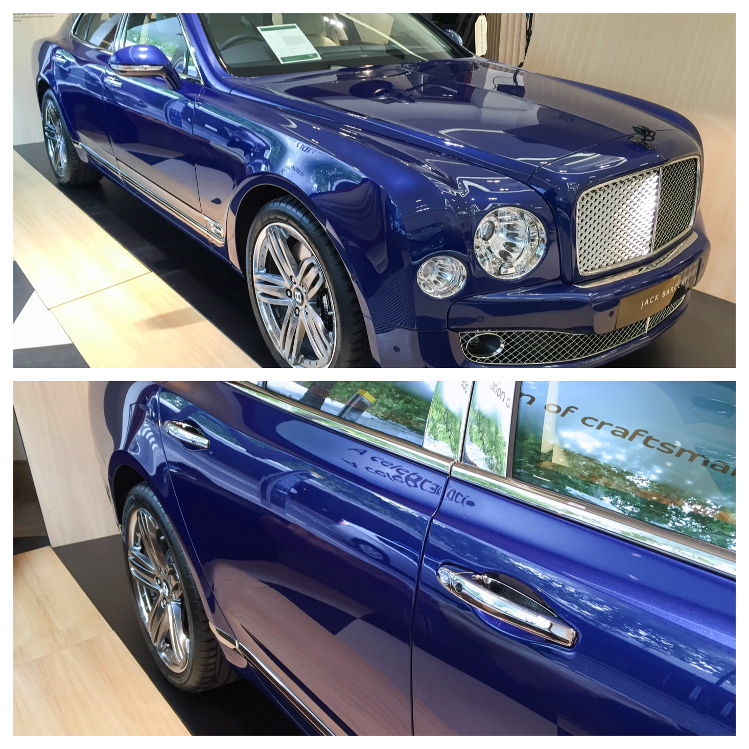 Limited Edition Bentley Mulsanne 95 | Jack Barclay HR Owen, London