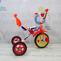 Sepeda Roda Tiga BMX Mommy Sandaran