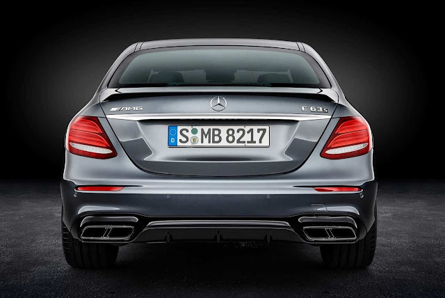 New 2018 Mercedes-AMG E 63 S 4MATIC+ Rear look