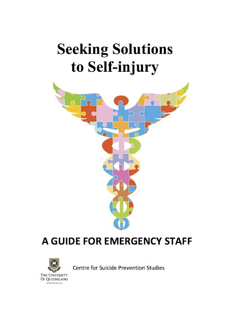 Seeking Solutions to Self-Injury - A guide for Emergency Staff (in pdf)