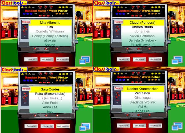NOA-Gewinnspiel Auslosung - Gewinner I - IV (Mila Albrecht, Claudi (Pandora), Sara Cordes, Nadine Krummacker)