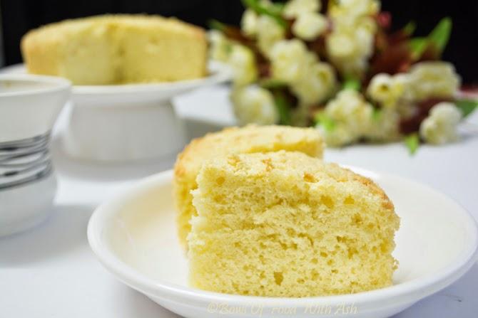 Basic Vanilla Sponge Cake Recipe